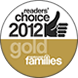 Readers Choice 2012 Gold