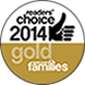 Readers Choice 2014 Gold