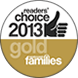 Readers Choice 2013 Gold