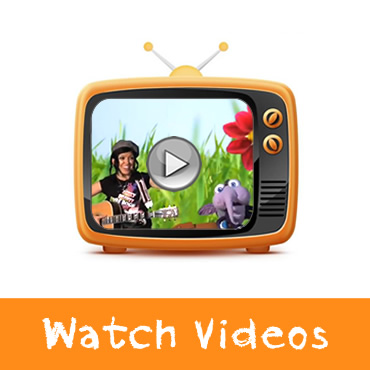 Watch Videos! Featuring The Music with Marnie Band and All Your Favourite Characters